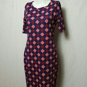 LuLaRoe Women SMALL Short Sleeve Shirt Dress